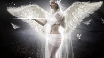 Ange blanc, honnetete