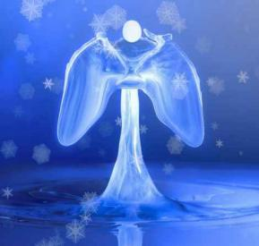 Ange cristal