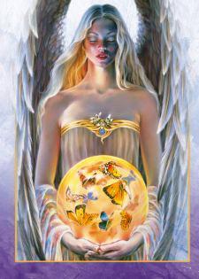 Angel de los mariposas