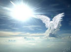 Angel in the sky by zwdesigns