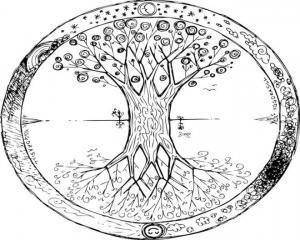 Arbre celtique protecteur
