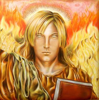Archangel uriel by dianacastilla