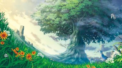 Artwork fantasy art trees nature life
