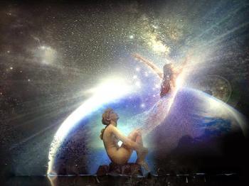 Awakening soul spirit