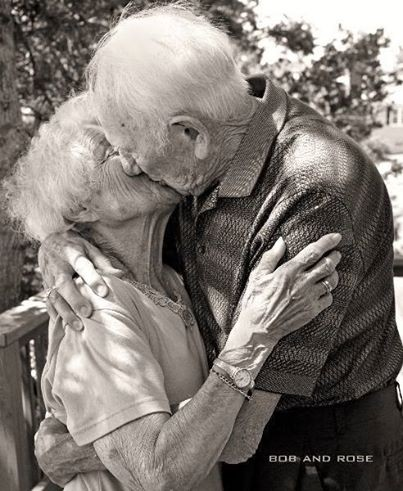 Baiser grand parents