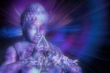 Bouddha bleu 1