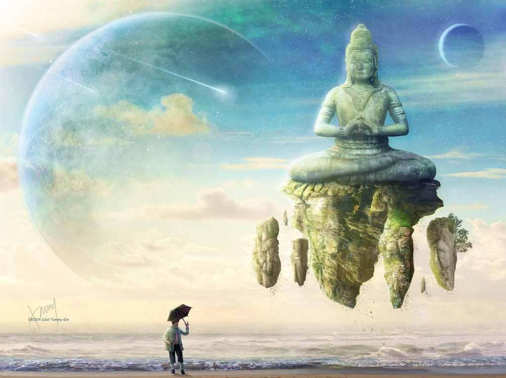Bouddha ciel