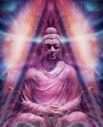 Bouddha corps de lumiere