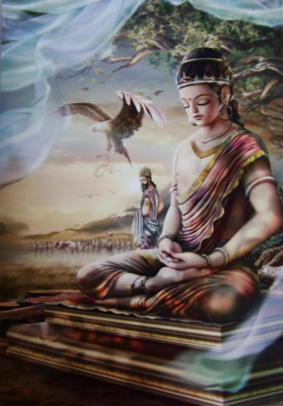 Bouddha medit
