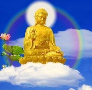 Bouddha nuage