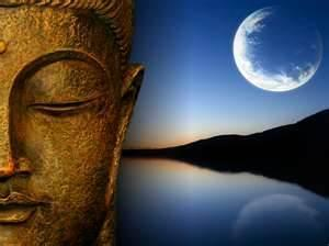 Bouddha lune