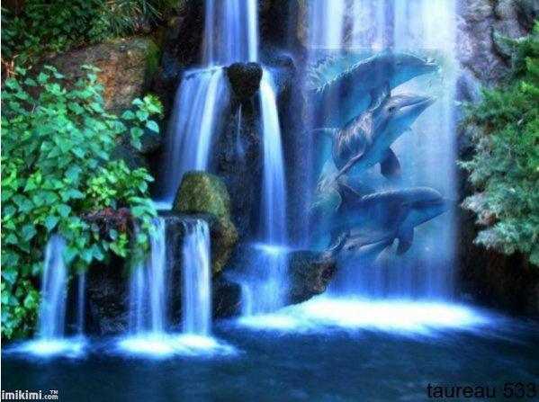 Cascade dauphins