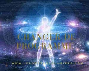 Changer programme