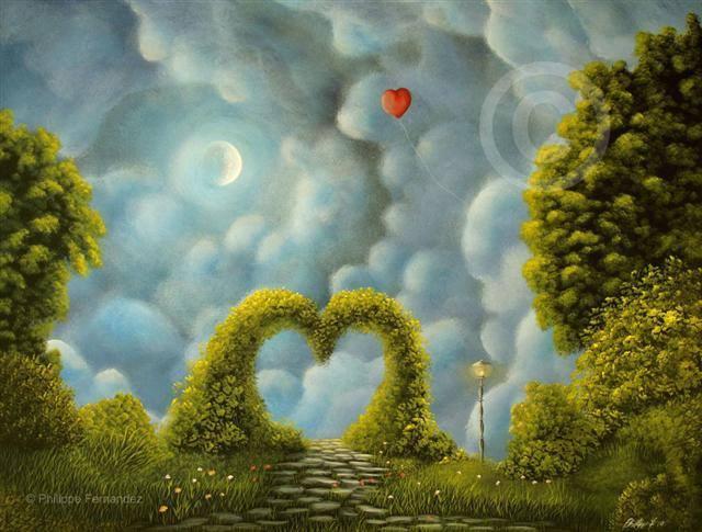 Chemin de l amour