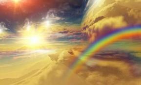 Ciel arc en ciel