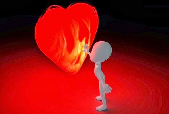 Coeur ardent