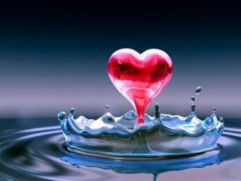 Coeur flaque