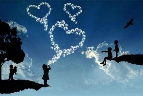 Coeur frequences de joie paix et harmonie