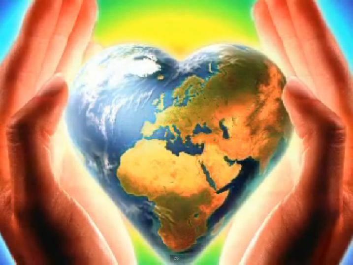Coeur mains