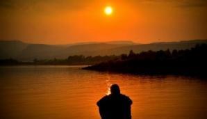 Contemplative soleil