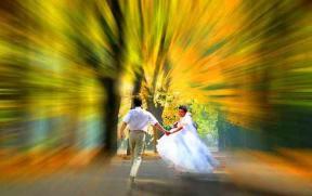 Couple rayonnant