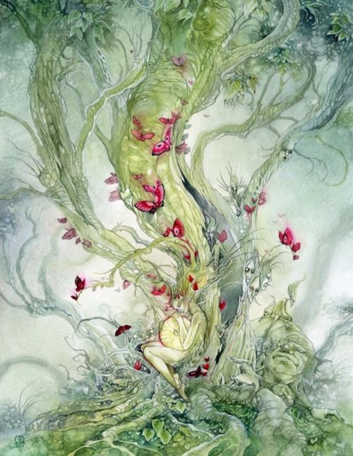 Creation femme arbre