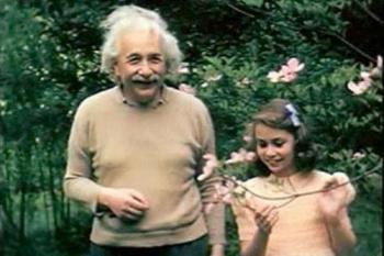 Einstein et sa fille