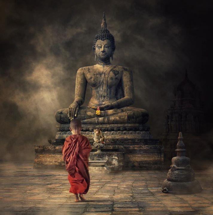 Enfant bouddha