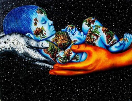 Enfant de l univers