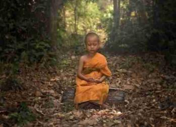 Enfant meditation