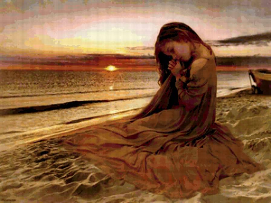 Enfant priere