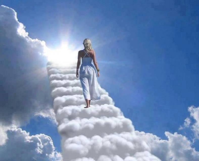 Escalier nuage