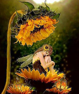 Fee fleur 1