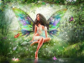 Fee papillon