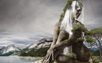 Femme cascade