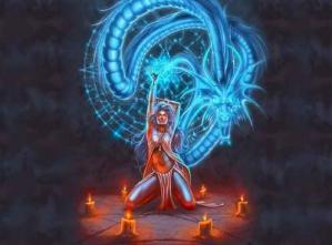 Femme energie dragon