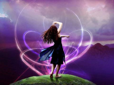 Femme energie nature