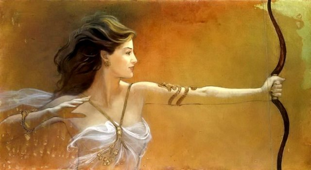Femme guerriere