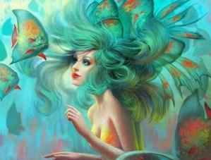 Femme poissons