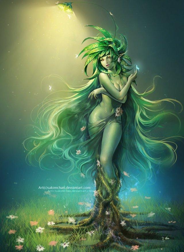Femme racines