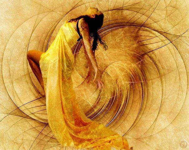 Femme spirales
