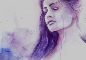 Femme triste 1