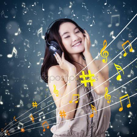 Fille musique