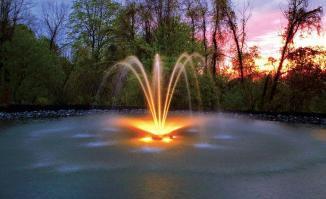 Fontaine de lumiere