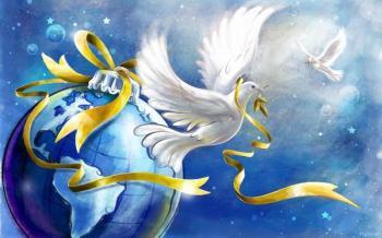 Gaia et colombes