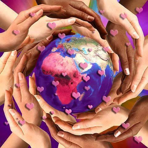 Gaia mains coeurs