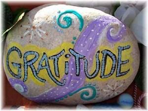 Gratitude galet