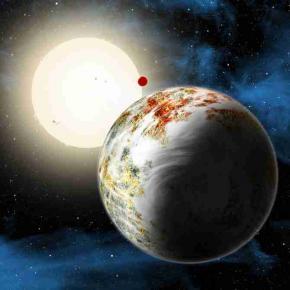 Kepler super planet
