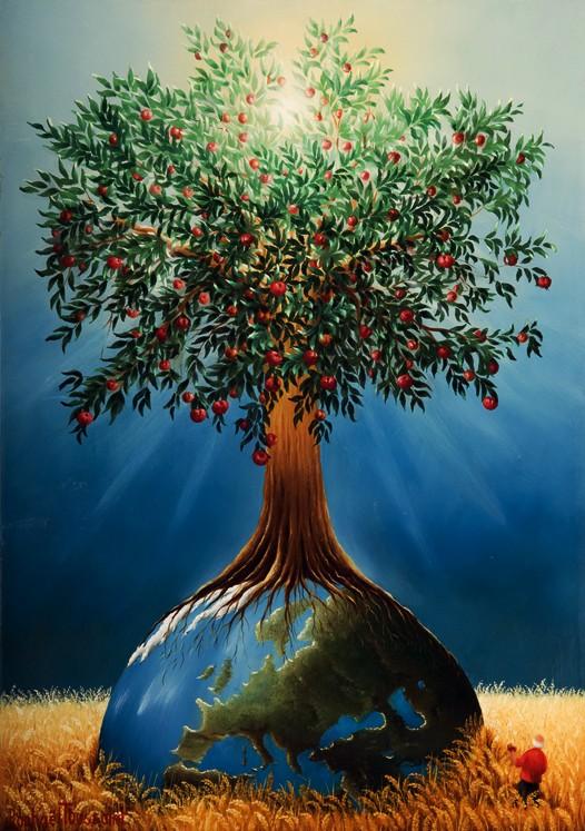 L arbre de vie par raphael toussaint