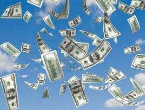 L argent tombe du ciel